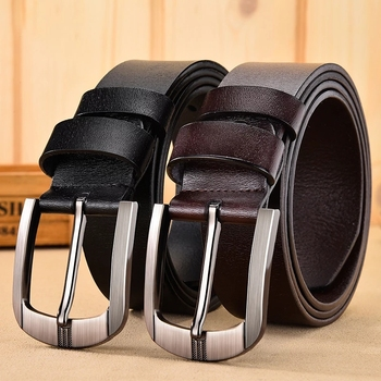 CARTELO New Cow Leather Belt Luxury Strap Male Belts For Fashion Classice Vintage Pin Buckle Men Belt High Quality Large size
