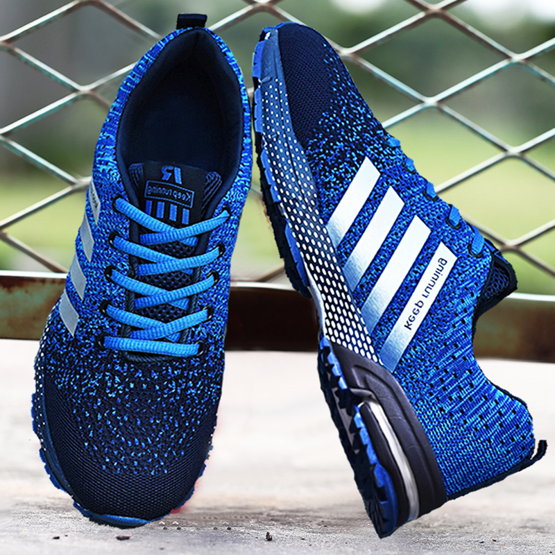 Breathable Running Shoes 45 Light Men's Sports Shoes 48 Large Size Sneakers 47 Fashion Women's Couple Casual Jogging Shoes 46