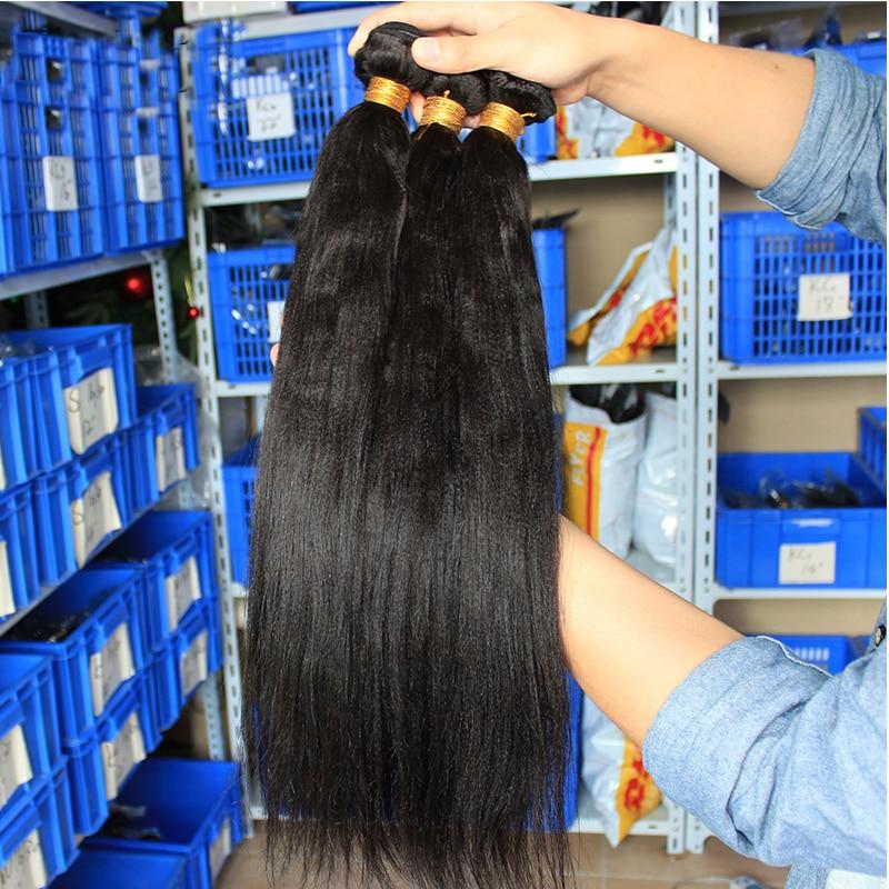 Light-Yaki-Human-Hair-Malaysian-Hair-Bundles-Yaki-Straight-Natural-Black-Can-By-3-or-4 (1)