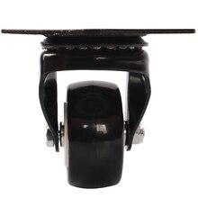 цена на 4 Pcs/Lot 1.5-inch Gold Drill Wheel, Polyurethane Caster, Universal Case, Pull Rod Box, Mobile Toolbox Wheel