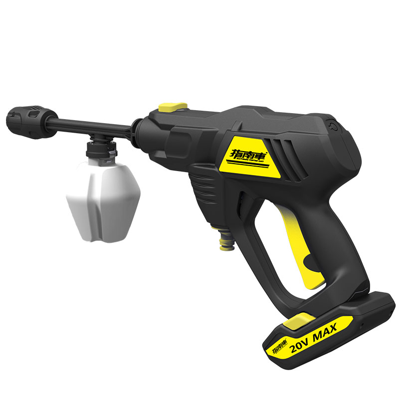 Wireless <font><b>Car</b></font> Washer Portable High-pressure Water Gun <font><b>Car</b></font> Wash Artifact Window Floor Cleaning Rechargeable Lithium <font><b>Battery</b></font> image
