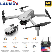 LAUMOX KF102 GPS Drone 4K HD Camera with 2-Axis Anti-Shake Gimbal Profesional Quadcopter Brushless WiFi FPV Dron VS SG907 MAX