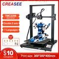3D-принтер CREASEE Fdm с алюминиевой рамой, большой размер, набор «сделай сам», 300x300, 3,5 дюйма, сенсорный экран, 3D-печать, возобновление печати после ...