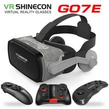 Nuovo gli amanti del gioco VR Shinecon VR Occhiali di Realtà Virtuale 3D Occhiali Google Cartone VR Auricolare Box per 4.0 6.53 pollici Per Smartphone