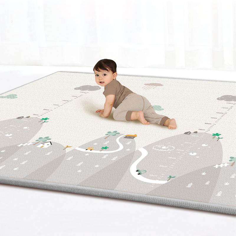 Big Size Crawling Mat Children's Toys Double-sided Waterproof Eva Soft Foam Kindergarten Rug Foldable Outdoor Baby Play Mat