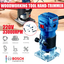 Электрический триммер роутера bosch 550 Вт для деревообработки
