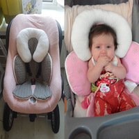 Baby stroller mat car Seat Cushion head Body Protective Cushion Thick cotton pad stroller accessory