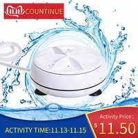 Mini laveuse rotative personnelle portative de Turbine de Machine à laver commode pour le voyage d'affaires à la maison de voyage