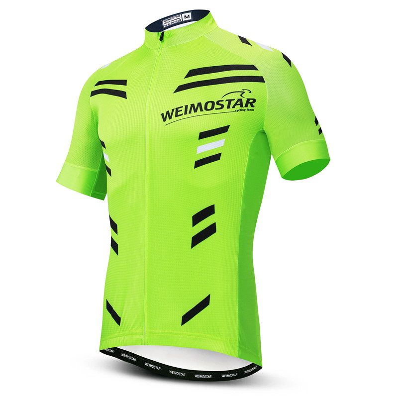 Bike Jersey Short-Sleeve Cycling-Clothing Team-Sports Ciclismo Ropa-Maillot Weimostar
