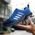 Осенние дышащие мужские беговые кроссовки Flyknit  легкие спортивные кроссовки для бега  марафонские кроссовки