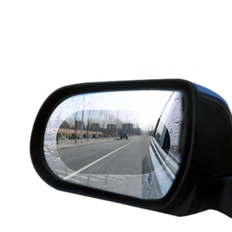 Image 4 - 2Pcs Car Rearview Mirror Waterproof Anti Fog Rain Proof Film Side Window Glass Film Anti rain Car Rearview Mirror Cover Films-in Awnings & Shelters from Automobiles & Motorcycles