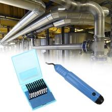 NICEYARD нож для обрезки кромок NB1100 в виде ручки для снятия заусенцев для медной трубки расширитель детали инструмента BS1010 заусенцев скребок