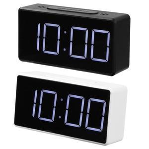 LED Digital Alarm Clock with U