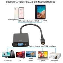купить HDMI to VGA 1080P Active HDMI to VGA Adapter Video Converter Male to Female Compatible for Computer Desktop Laptop по цене 204.51 рублей
