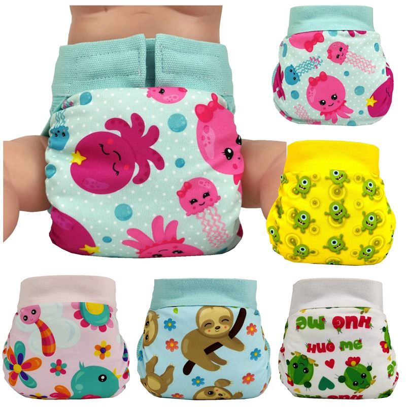 2019 Glad Baby Cloth Diaper Funny Cloth Nappies Adjustable Washable Freeshipping