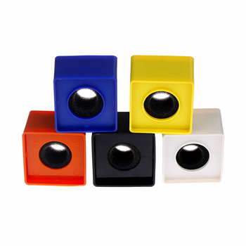1pc ABS Square Shaped Interview KTV Mic Microphone Logo Flag Station 1