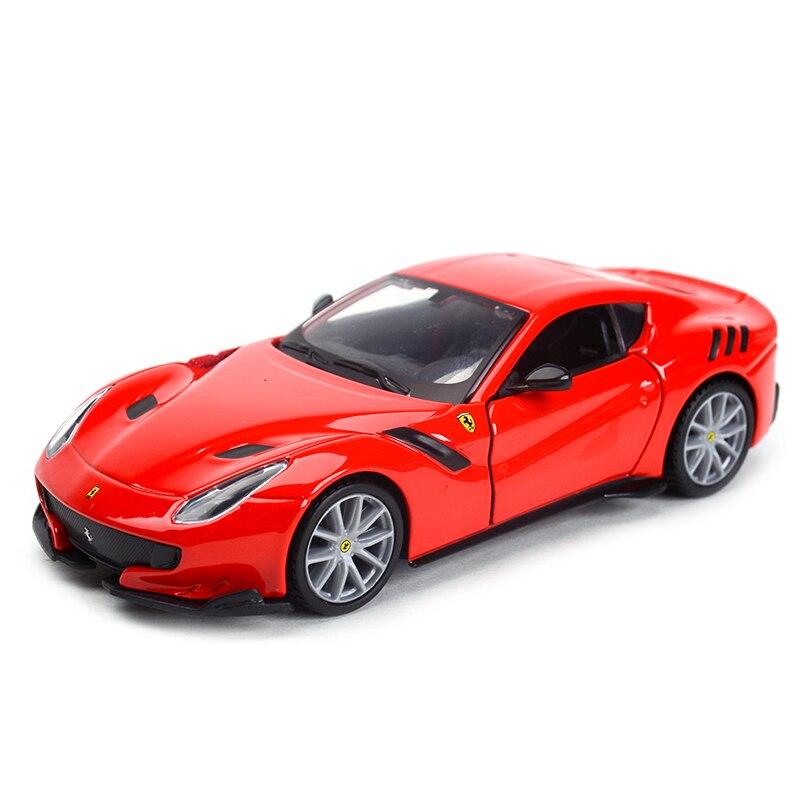 Bburago 1:32 F12 Tdf Sports Car Static Simulation Diecast Alloy Model Car