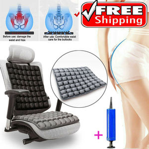 5D Air Bag Seat Cushion Decompression Breathable Office Seat Cushion Inflatable Buttock Cushion Pregnant Woman Seat Cushion(China)