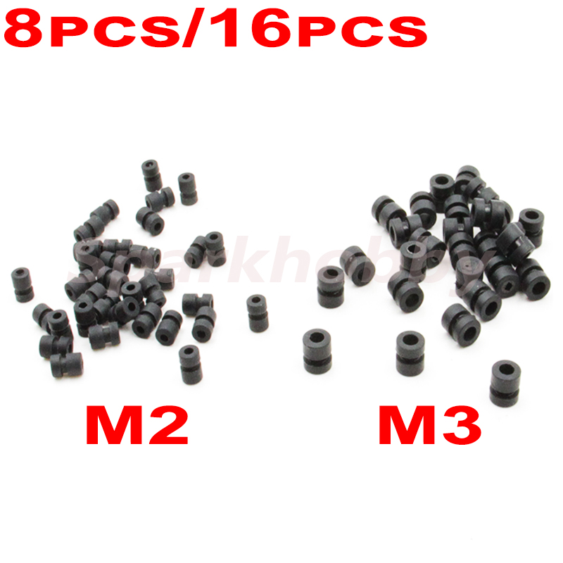 8 шт./16 шт. M2 M3 резиновый амортизационный шарик амортизирующий шарик антивибрационный шарик для F3 F4 F7 контроль полета амортизирующий RC FPV