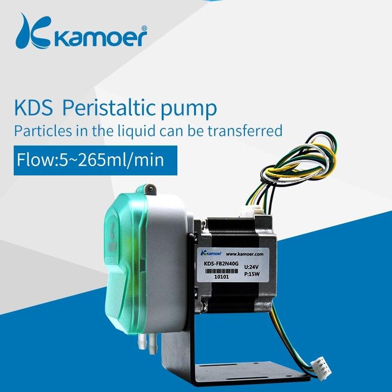 Kamoer KDS 12V / 24V DC Peristaltic Water Pump  Used For Chemical Dosing Liquid Transfer