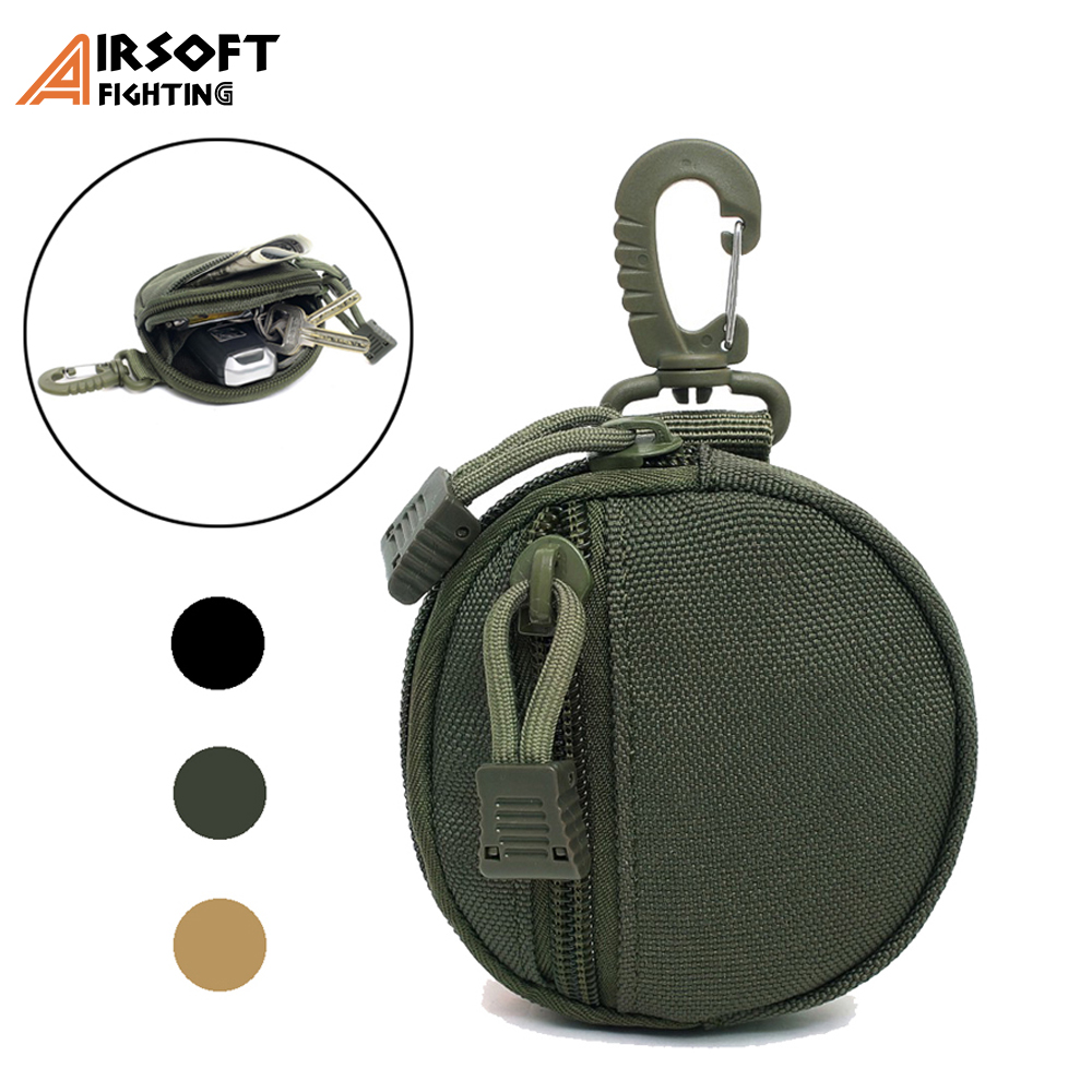 Tactical EDC Pack Pouch 1000D Hunting Molle Utility Functional Bag Practical Coin Purse Outdoor Military Key Earphone Pouches