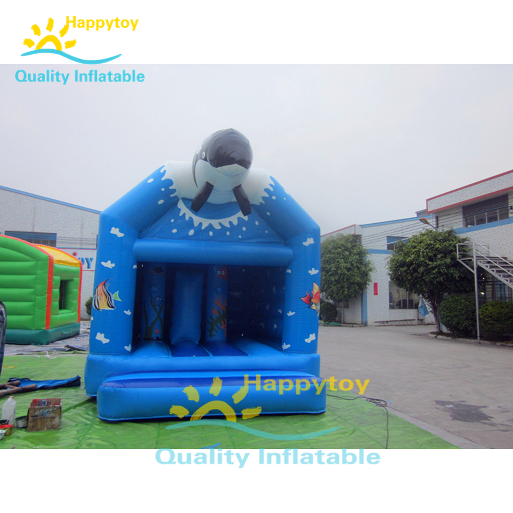 2019 commercial cheap inflatable bounce house ,outdoor jumping bouncy castle with slide
