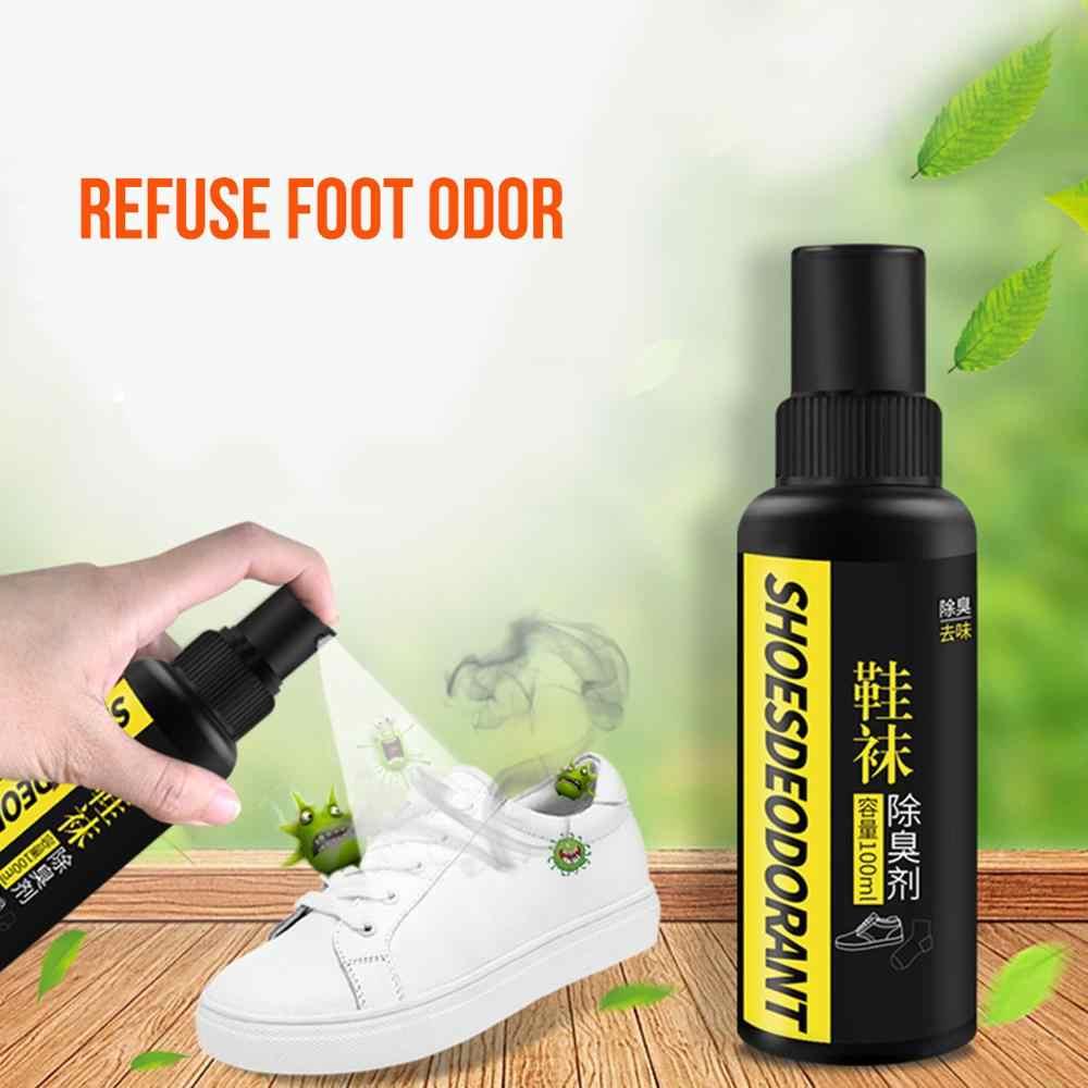 Spray Antibatterico Deodorante in Polvere Anti Prurito Odore di Sudore Piedi Gli Atleti Del Piede Liquido Anti-Funghi Scarpa Calzino Piedi Cura