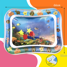 Baby Water Play Mat Inflatable Patted Pad Baby Infant Crawling Water Cushion Creative Dual Use Baby Kids Toys Tummy Time Pat Pad infant baby tummy time musical mat with mirror water resistant baby play blanket carpet rugs infant bed kids developmental toy