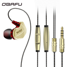 Original WRZ Updated X6 In Ear HIFI Earphone Zircon Sports Bass Noise Cancelling Earphones With Microphone For IPhone Xiaomi Mp3
