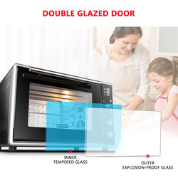 50L Multi-functional Electric Oven Automatic Oven Large Capacity Horno Electrico Household Appliances For Kitchen F50