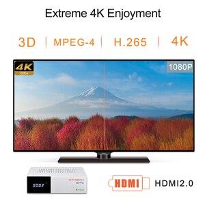 Image 4 - GTmedia GTC FTA לווין מקלט DVB S2 ביס VU קולט DVB C טיונר dvb T2 4K אנדרואיד טלוויזיה תיבת ISDB T bluetooth 4.0 מפענח
