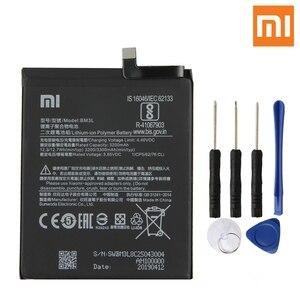 Image 5 - Bateria recarregável genuína 3300 mah da bateria do telefone da substituição original bm3l de xiao mi 9 9 m9 mi 9 bm3l