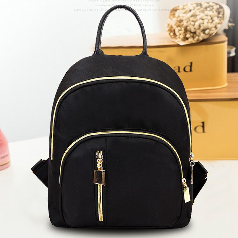 2020 Spring And Summer Fashion Elegant Shoulder Korean Style Small Backpack Travel Mini Backpack Girl Oxford Cloth Small Bookbag