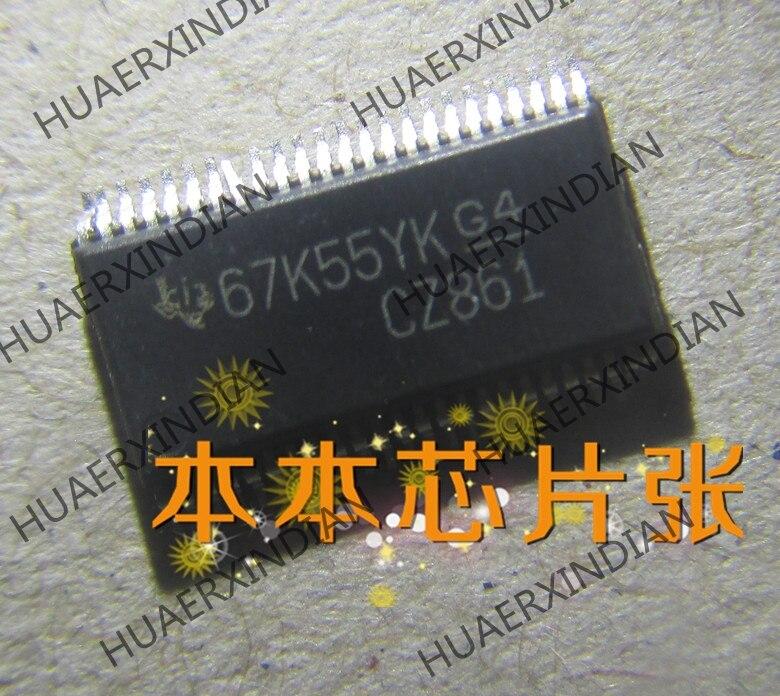 Новый SN74CBTR16861DGVR принт CZ861 TSSOP-48 высокое качество в наличии