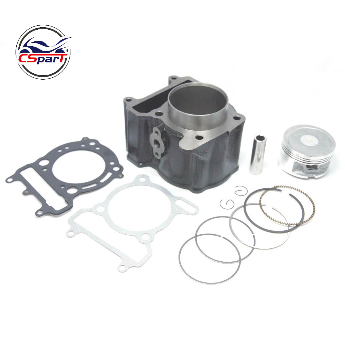 70mm cylindre Piston anneau Kit YP260 257 YP250 VOG 260CC Linhai QianJiang Keeway ATV UTV BUYANG Scooter