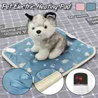Intelligent Time Pet Dog Cat Winter Warm Electric Heating Blanket Pad Body Winter Warmer Mat Bed Blanket Animals Bed Heater 220V