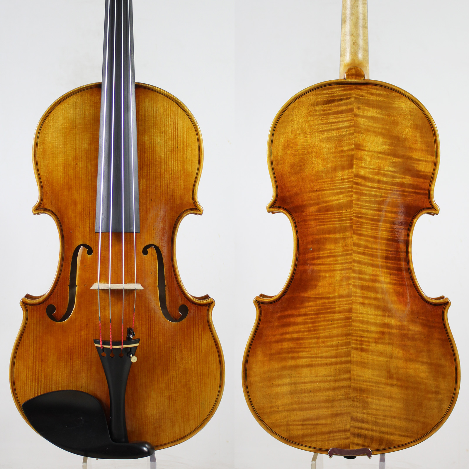 "G.B.Guadagnini 1785 Copy! 15.75"" Viola Copy, Professional Level!Antique Oil Varnish!"
