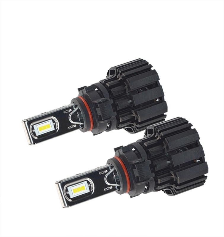 H4/9003/HB2 Hi/lo Beam D1 H7 H11 9005 9006 светодиодный автомобильный фары 13600LM 100W Светодиодный противотуманный фонарь лампы 6000K - 2