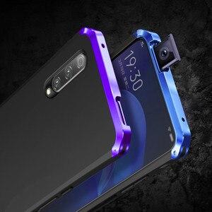 Image 2 - Luksusowe, odporne na wstrząsy pancerz metalowa obudowa Case dla Huawei Honor 9X 9X PRO guma pełna ochronna powrót Coque dla Huawei honor 9x 9x pro