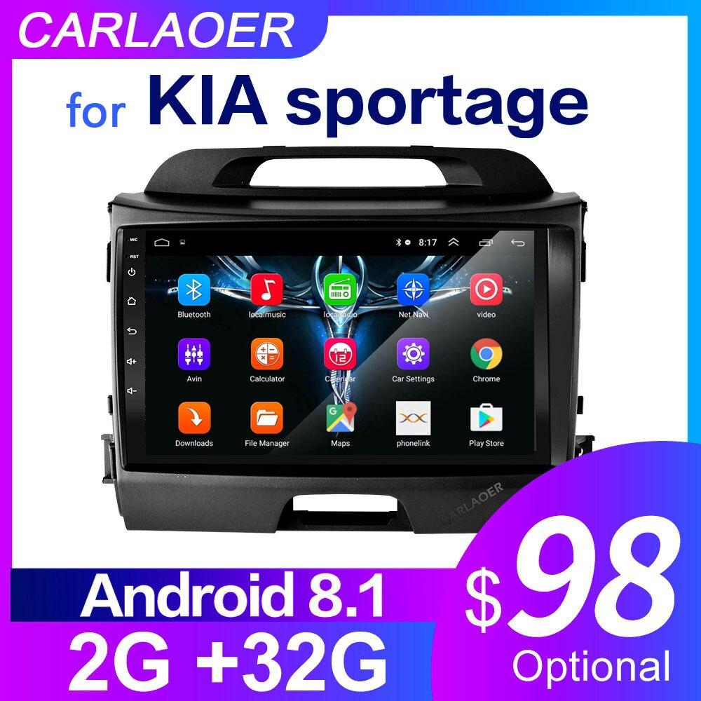 Для KIA Sportage 2010 2011 2012 2013 2014 2015 2016 2Din автомобильный Android Радио мультимедийный плеер 2 Din Авторадио Видео GPS Navi WiFi