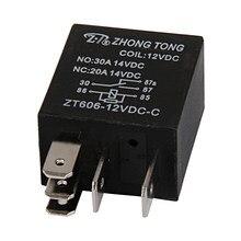 Relais Auto-5 broches SPDT 12 V DC | Relais Auto de 20/30 ampères (faisceau de câblage et sans prise