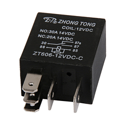 20/30 AMP Auto Relay - 5 Pin SPDT 12 V DC Automotive Relay (No Socket and Wiring Harness)