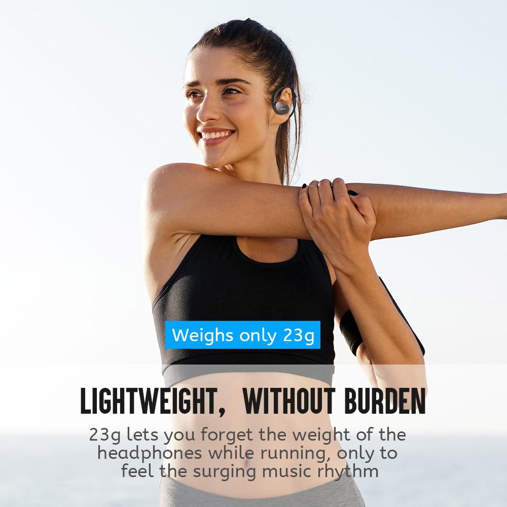 Dacom Athlete Sports Wireless Headphones IPX5 Waterproof Bluetooth Earphones Running Headset Head Ear Phones with Handsfree Mic 1