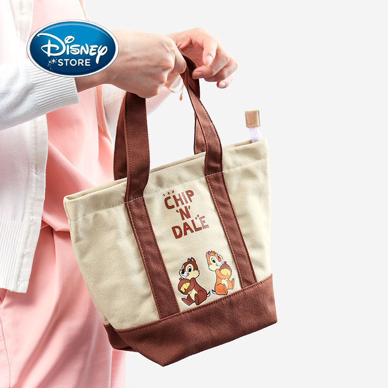 Disney Reusable Eco-Friendly Shopping Bag Cute Cartoon Alien Donald Duck Handbag Premium Foldable Tote Bag With Handle Lunch bag