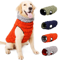 New Dog Winter Coat Warm Puppy Jacket Vest Pet Clothes Apparel Dog Clothing For Small Medium Large Dogs Both Side Wear Dog Coat
