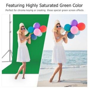 3*6M foto de fondo pantalla verde fotografía telón de fondo poliéster algodón negro Color sólido espesar fondos para estudio fotográfico