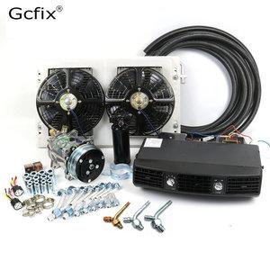 Image 1 - Kit de ventilación de aire acondicionado Universal AC para camión, furgoneta, Tractor, Jeep Street / Hot Rod, aire acondicionado de coche Vintage