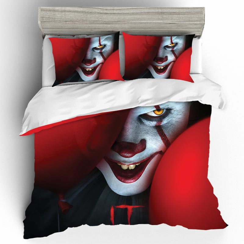 IT CHAPTER TWO Bedding Sets Home Textile Duvet Cover Single Queen King Size Bedding Set Bed Sheets Pillowcases Bed Linen Edredon
