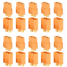 10 Pairs 20Pcs XT60 XT30 Amass XT30U XT60+ Male Female Bullet Connectors Plug For RC Quadcopter FPV Racing Drone Lipo Battery(China)