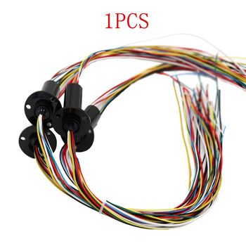1PC 36ch 2A FSC Slipring High Speed Ball 250RPM Slip Ring OD 22mm Electric Rotary Joint Connector 240V AC/DC for Drone Gimbal